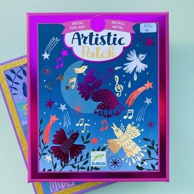 Artisic patch - foil art