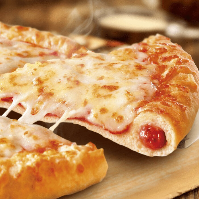 MEAL DEAL STUFFED CRUST LOADED CHEESE PIZZA