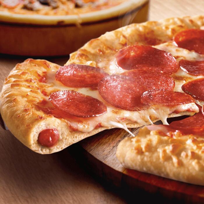 MEAL DEAL STUFFED CRUST PEPPERONI PIZZA