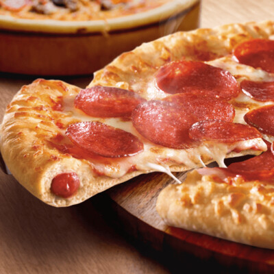MEAL DEAL STUFFED CRUST PEPPERONI PIZZA