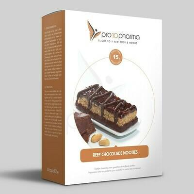 REEP CHOCOLADE MET NOOTJES PRO10 (7 REPEN) FASE 2