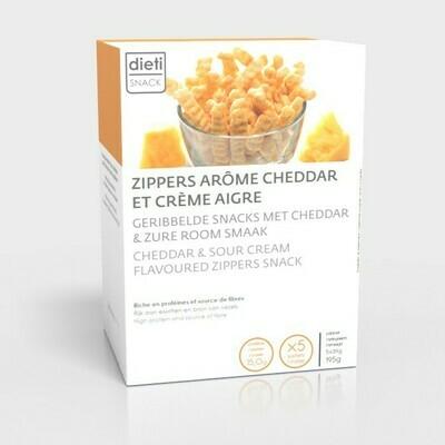 DIETISNACK - GRILLS MET ZURE ROOM EN CHEDDAR (5 X 30G)