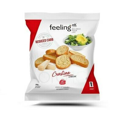 FEELING OK - CROSTINO MET KAAS (50G)