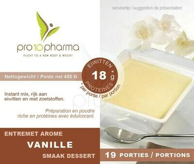 PRO10 PHARMA - VANILLE DESSERT POT 450G