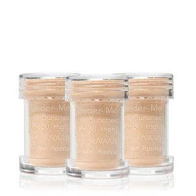 Powder-Me SPF Refill Nude Zonbescherming 3 x 2,5 g