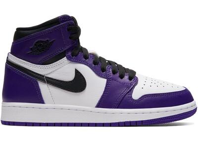 Nike Air Jordan 1 Court Purple (GS)