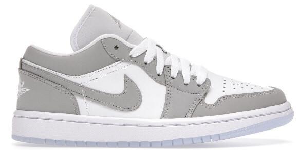 Nike Air Jordan 1 Low Wolf Grey (W)
