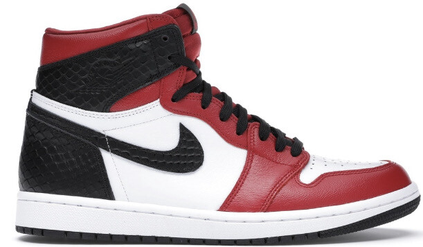 Nike Air Jordan 1 Retro High Satin Snake Chicago (W)
