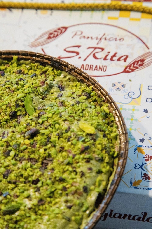 Crostata al Pistacchio Di Sicilia