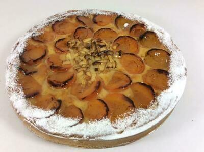 Apple and apricot Frangipane Tart 10-12 portions