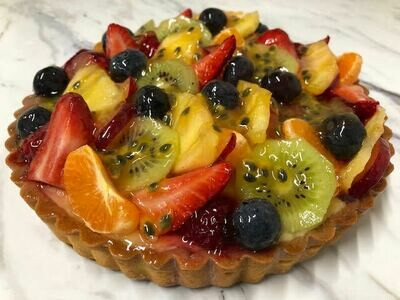 exotic tart 10-12 portions