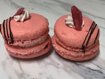 Mini Rose Macaron
