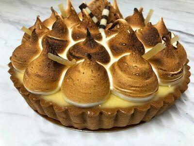 lemon meringue tart- 6 to 8 portions