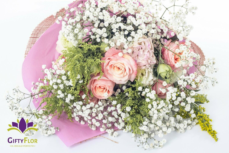 Parisina Ramo de rosas set x 12 ramos