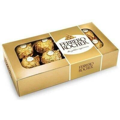 Chocolate Ferrero Rocher Caja por 8 trufas