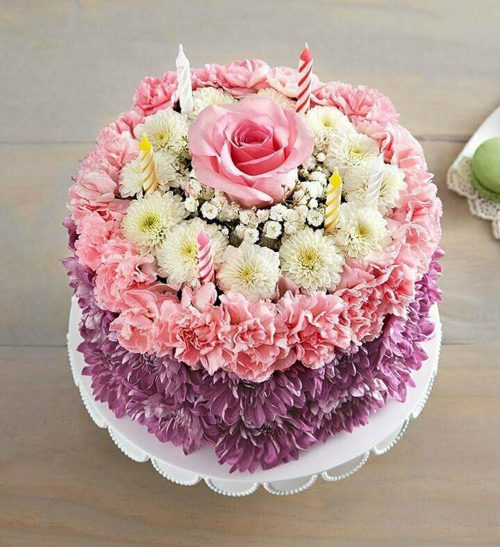 Pink Touch Torta de Margaritas y Flores