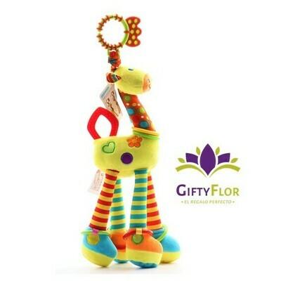 Peluche - girafa didáctica para bebé | Giftyflor