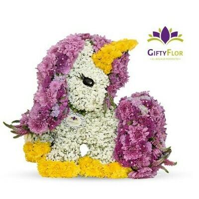 Verónica Mercedes| Unicornio de Flores | Giftyflor