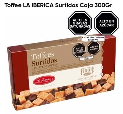 Toffee LA IBERICA Chocolate Caja 150Gr