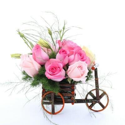 Eleonor | Rosas en carreta | Giftyflor