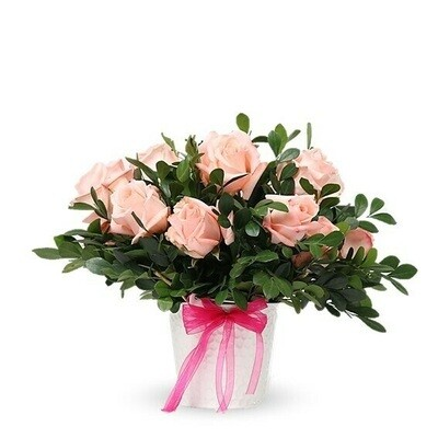 LiChi | Arreglo de Rosas rosadas | Giftyflor