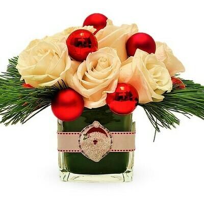 Jo Jo Arreglo de rosas para Navidad