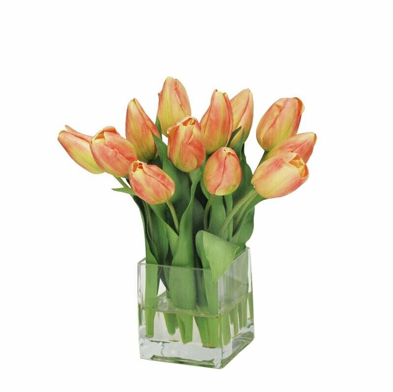 Jairo | Arreglo de tulipanes Naranjas