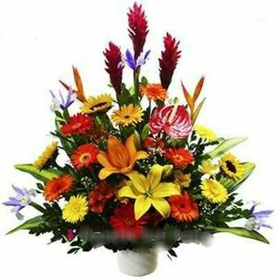 James | custom flower arrangement