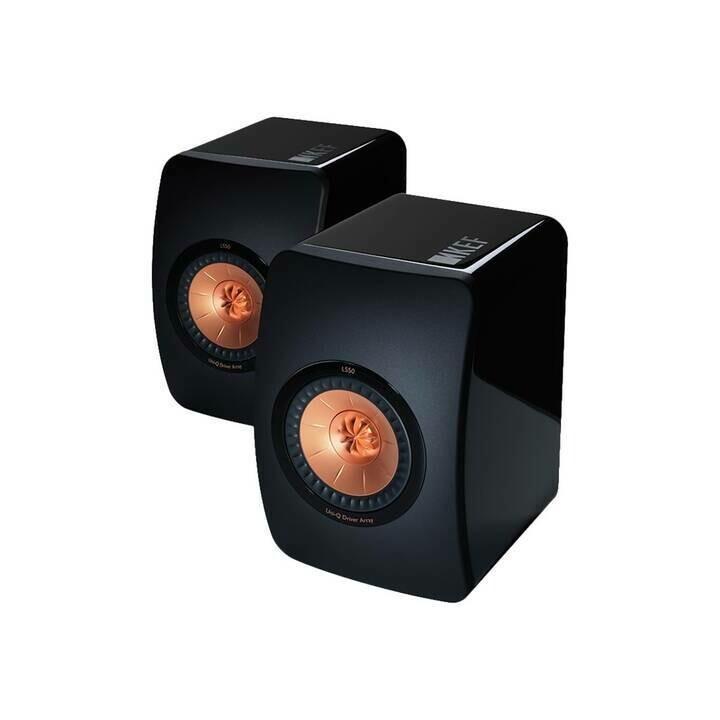 KEF LS50 (Black Gloss) - (Paarpreis)