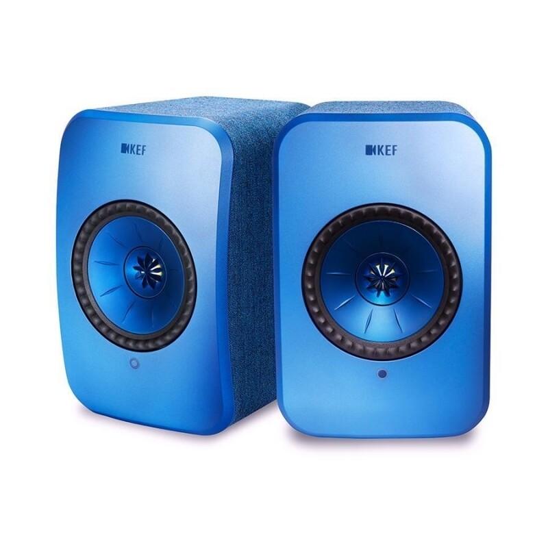 KEF LSX (blue) - (1 Paar) - aus Ausstellung