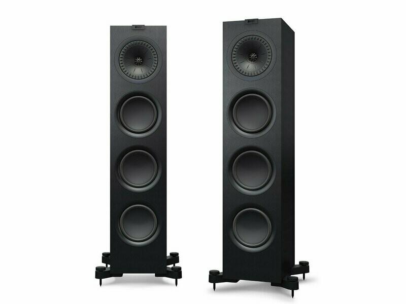 KEF Q550 (schwarz / weiss) - (Paarpreis)