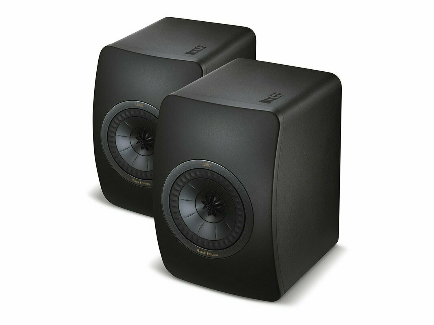 KEF LS50 (All Black) - (Paarpreis)
