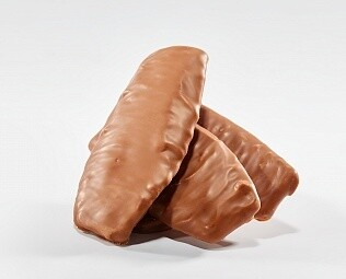 Апельсиновые чипсы в молочном шоколаде / 30 грамм