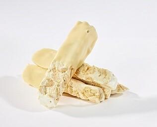 Белая шоколадная нуга с кешью / 30 грамм
