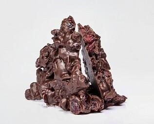 Клюква в тёмном шоколаде / 30 грамм