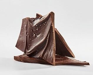 Ломаный горький шоколад с солью и перцем 30 грамм
