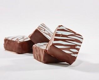 Мармелад Кокос-маракуйя в тёмном шоколаде / 30 грамм