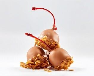 Черешня в молочном шоколаде / 30 грамм