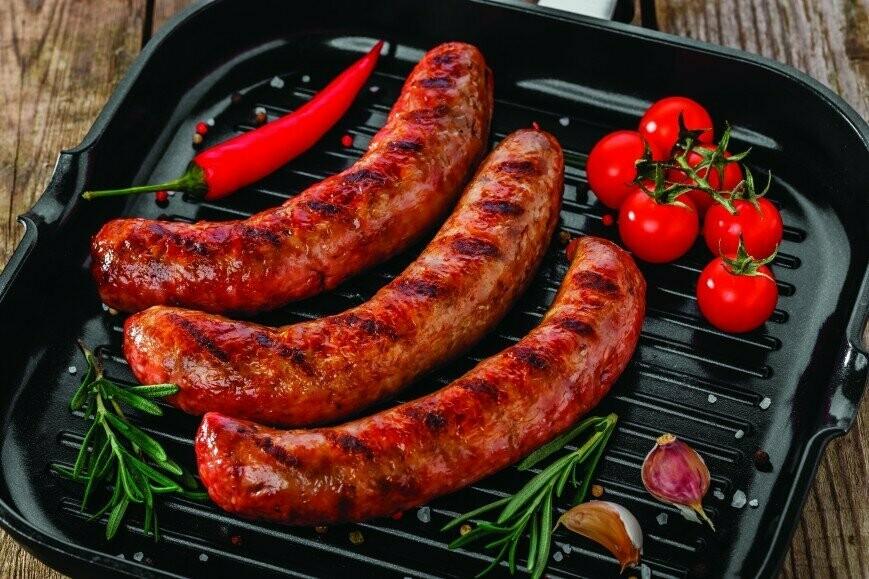 Колбаски для жарки свиные 1 кг