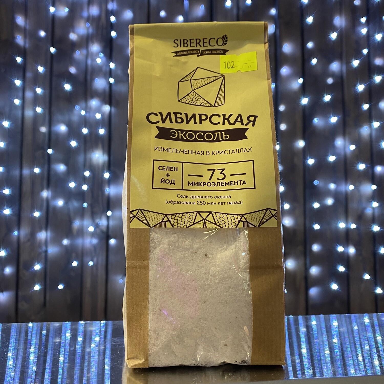 Сибирская ЭкоСоль Измельченная в кристаллах 500гр