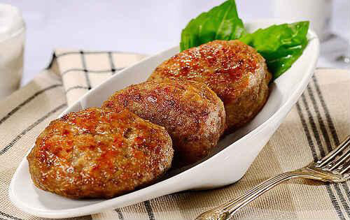 Котлеты свинина/говядина 1 кг