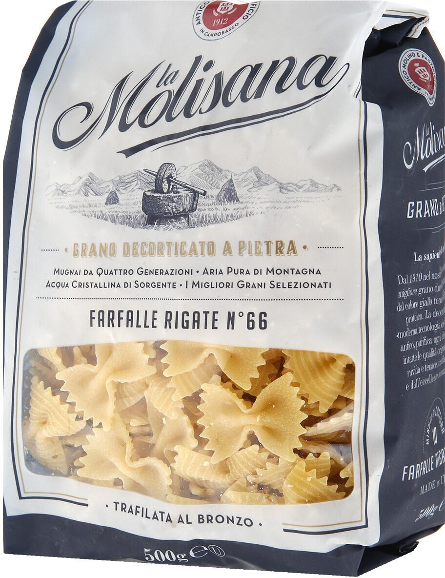 Макаронные изделия La Molisana Farfalle (Бантики) № 66, 500г