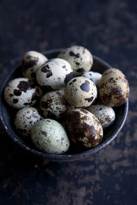 Яйца перепелиные 20 шт