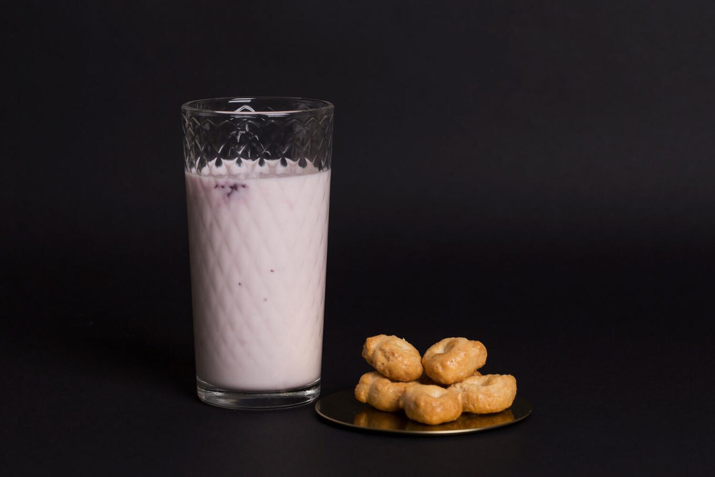 Йогурт фермерский со вкусом черники