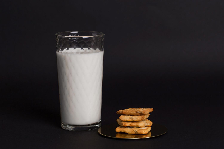 Йогурт фермерский со вкусом клубники