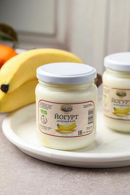 Йогурт термостатный с бананом