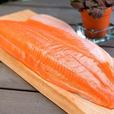 Филе лосося атлантического Трим D в в/у