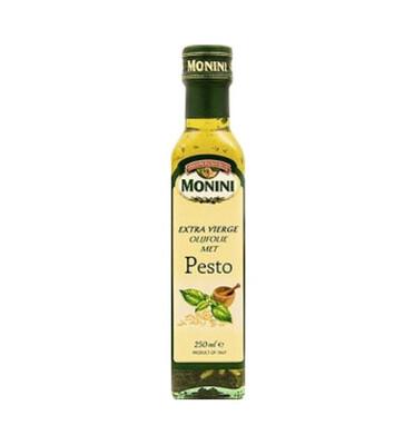 Масло оливковое Monini с ароматом песто 250 мл.