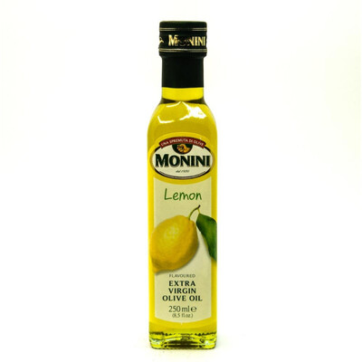 Масло оливковое Monini с ароматом лимона 250 мл.