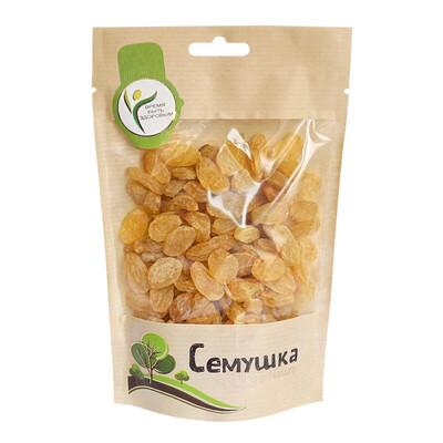 Изюм узбекский золотистый Семушка (150 гр.)
